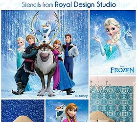 Girl Bedrooms Inspired By Disney S Frozen, Bedroom Ideas, Home Decor,  Painting,