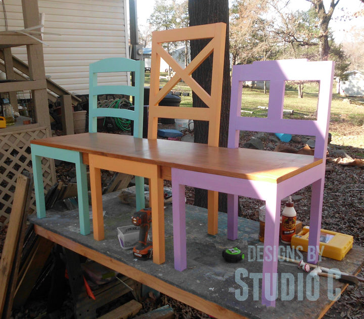 Wonderful Build a Dining Chair Bench | Hometalk TO13