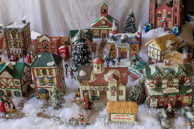 tips and tutorial for creating a beautiful christmas village - Indoor Decorations Christmas Village