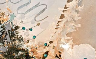 diy burlap christmas trees a ballard designs knock off, christmas decorations, crafts, seasonal holiday decor