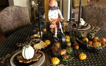 dinner with pumpkin paul harvey, living room ideas, seasonal holiday decor