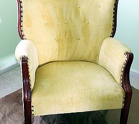 paint the fabric on that old chair yes it can be done painting fabric is & Paint the fabric on that old chair! Yes it can be done! | Hometalk