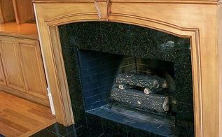 fireplace mantel saved, fireplaces mantels, painting, woodworking projects, After painted glazed with several colors satin polyurethane applied