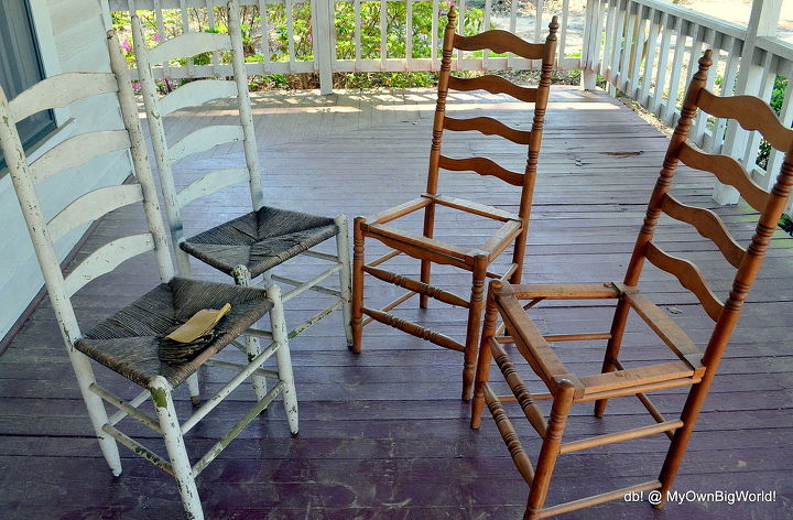 porch lounger, curb appeal, outdoor furniture, outdoor living, painted furniture, porches, repurposing upcycling