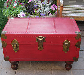 Q Antique Trunk Coffee Table With Annie Sloan Chalk Paint, Chalk Paint, Painted  Furniture