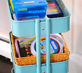 How To Organize Kids Craft Supplies, Cleaning Tips, Baskets And Folders Fit  Perfectly Below