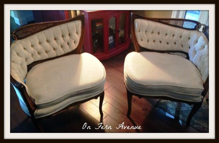 Awe Inspiring Painted Fabric French Chairs Hometalk Download Free Architecture Designs Scobabritishbridgeorg