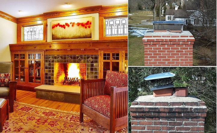 Enjoy your fireplace w/ complete peace of mind by having the chimney checked and cleaned by a certified chimney sweep. It's vital that the chimney be examined for blockage that can cause dangerous carbon monoxide build-up. Titus Built