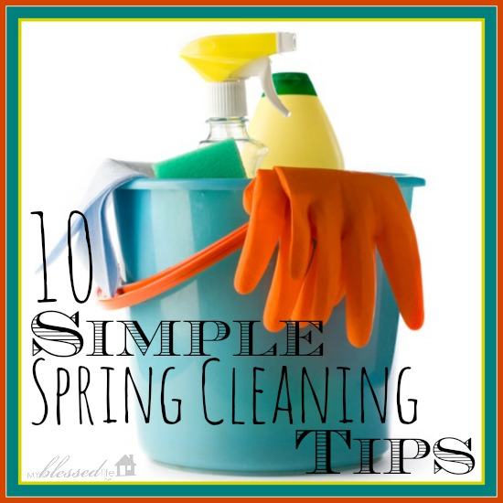 10 simple spring cleaning tips, cleaning tips, 10 Simple Spring Cleaning Tips
