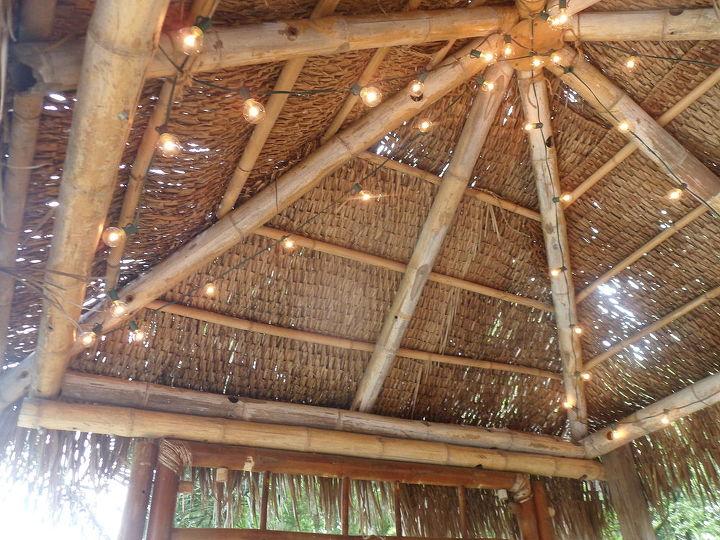 Ceiling of Tiki Hut