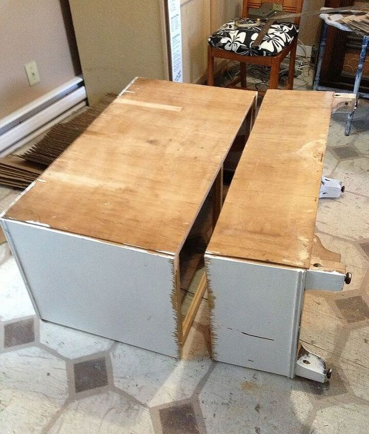 two pieces of furniture from one do you like it, painted furniture