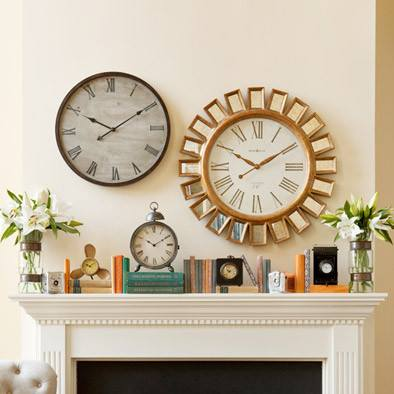 Clock Mantel