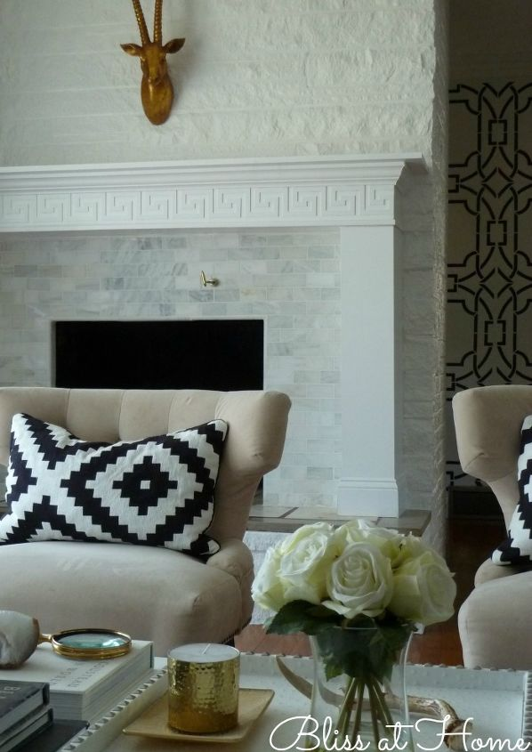 diy fireplace makeover before after reveal, fireplaces mantels, home decor, living room ideas
