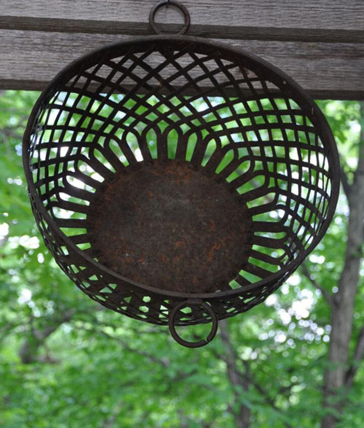 Old handcut basket, I think.