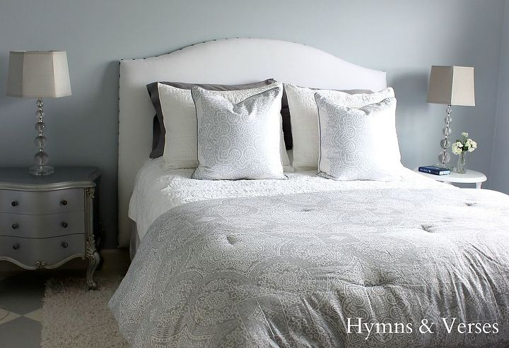 Diy Upholstered Headboard With Nail Head Trim Bedroom Ideas Home Decor