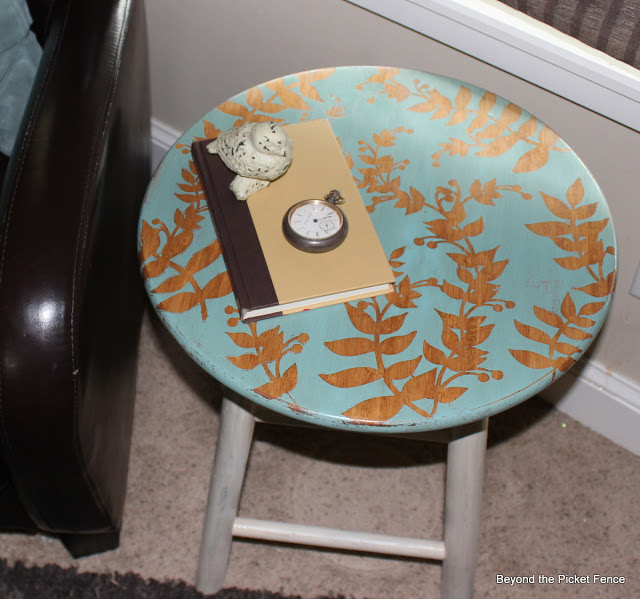 fun side table ideas you can make, painted furniture