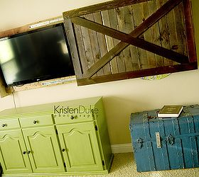 Diy Sliding Barn Door Tv Cover, Doors, Entertainment Rec Rooms, Home Decor,