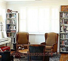 Built In Bookshelves From Closet Organizers, Home Decor, Living Room Ideas,  Repurposing Upcycling