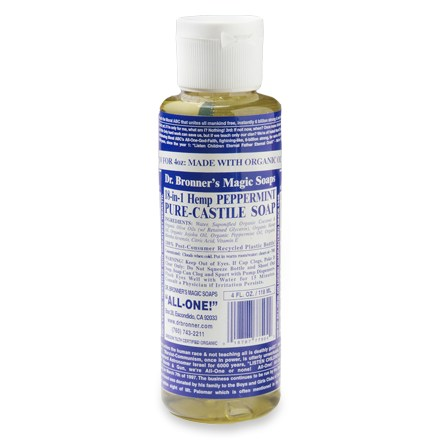Castile Soap is purely made from plants (rather than from animal fats as other soaps commonly are). It is named for the Castile region of Spain. It can be used as an all-purpose cleaner, in shampoos, dishwasher detergent & much more!