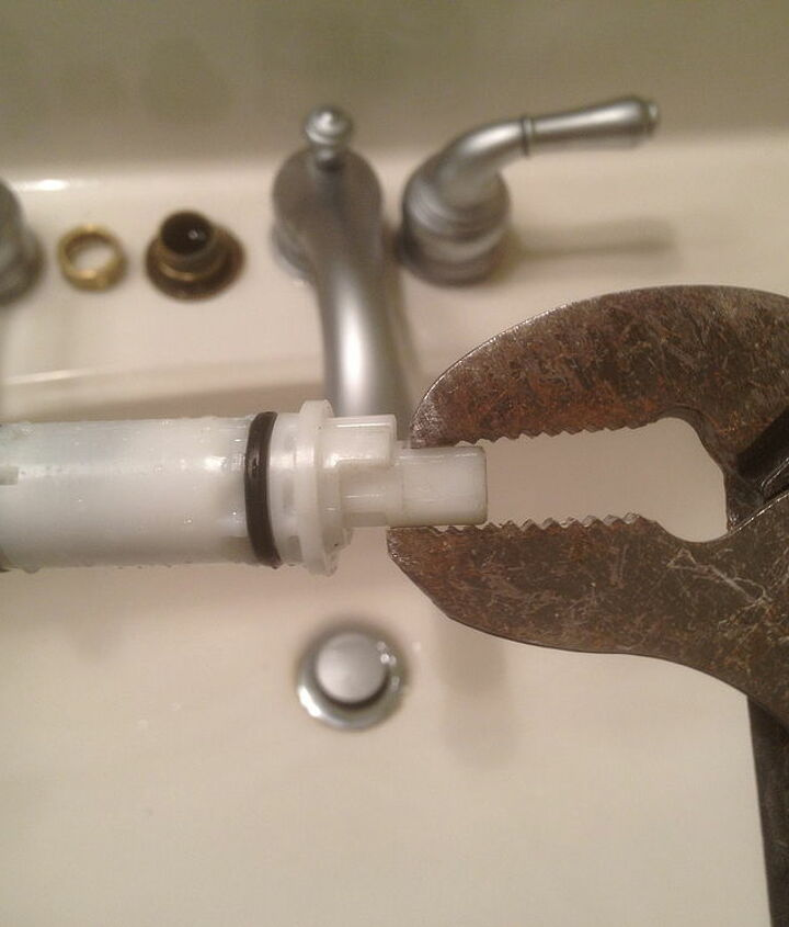 eliminate leaking bathroom faucets in less than 15 minutes, home maintenance repairs, how to, plumbing