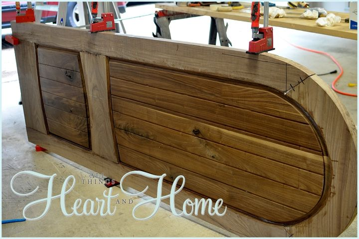 diy arched tudor door, diy, doors, how to, woodworking projects, The entire process took 4 months of weekends he went really slow on this project which is totally unlike him