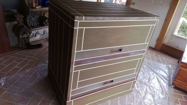 metal cabinet don t toss it turn it into something useful, painted furniture