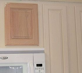 Kitchen Cabinet Remake Pickled To Beachy Chalk Paint Cabinets Design