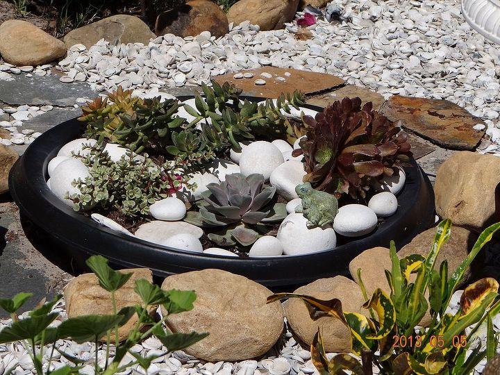 back yard works, gardening, outdoor living