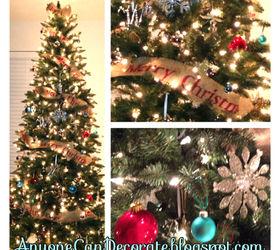 DIY Burlap Christmas Tree Garland | Hometalk