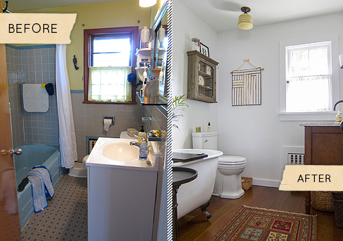 Bathroom Makeovers Fast Renovation Tips Before After Photos Video Ideas Home Decor