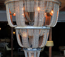 bike chain chandeliers, lighting, repurposing upcycling