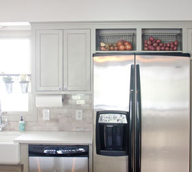 Remodeled Kitchen Using Original Cabinets With Diy Custom Doors, Home  Decor, Home Improvement,
