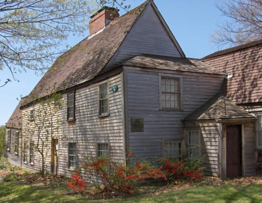 The oldest wood-frame house in North America | Hometalk