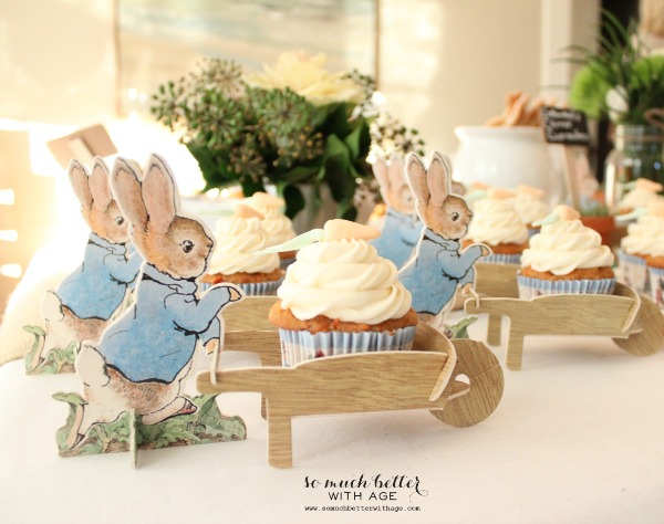 a beatrix potter party, easter decorations, seasonal holiday d cor, Adorable Beatrix Potter party