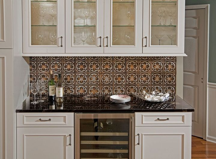 How To Install A Beautiful Tin Backsplash Hometalk