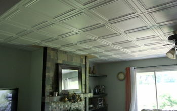 # Budget upgrade   Good Bye Popcorn Ceiling