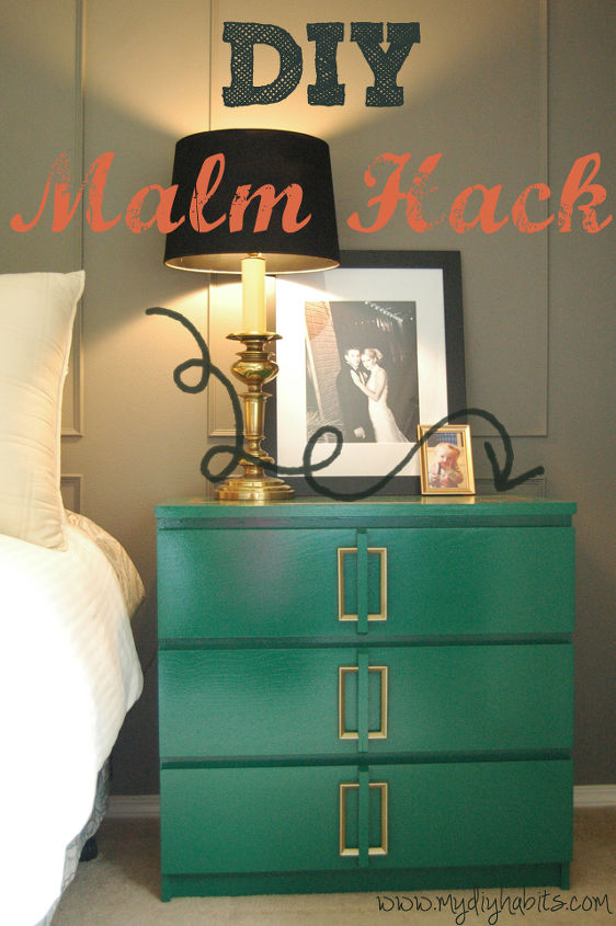 Ikea Hack || Malm Bedside Table