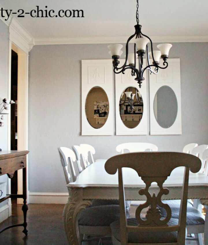 Mirrors for the dining room