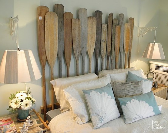 Decorating With Wooden Oars Home Decor