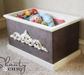 DIY Wood Toy Box