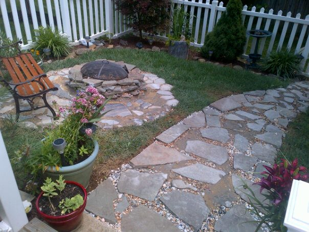 My back yard is almost finished. A little creativity makes our back yard a place to enjoy.