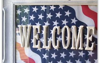 How to Make a Thrifty and Fun Welcome Sign