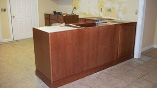 I am considering buying American Woodmark cabinets from Home ...