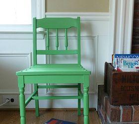 DIY Annie Sloan CP Antibes chair