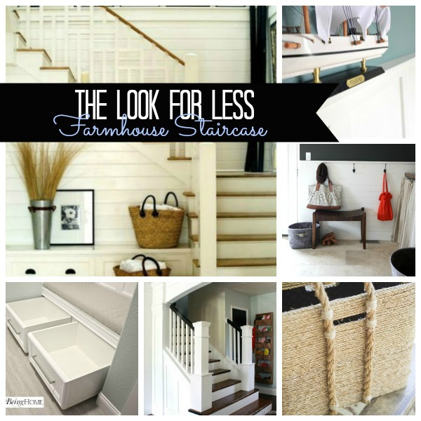 5 Ways To Get This Look Farmhouse Style Staircase Home Decor Stairs