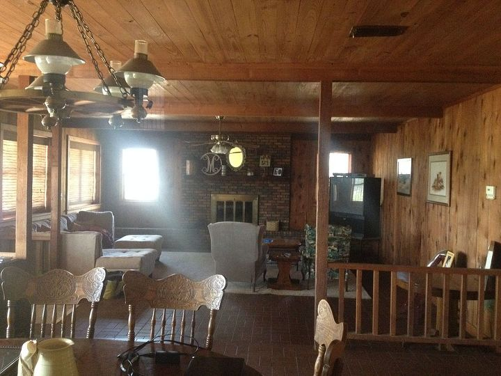 q trying to turn ex bachelor pad into our home please help, diy, fireplaces mantels, flooring, home decor, home improvement, how to, living room ideas, tile flooring, woodworking projects