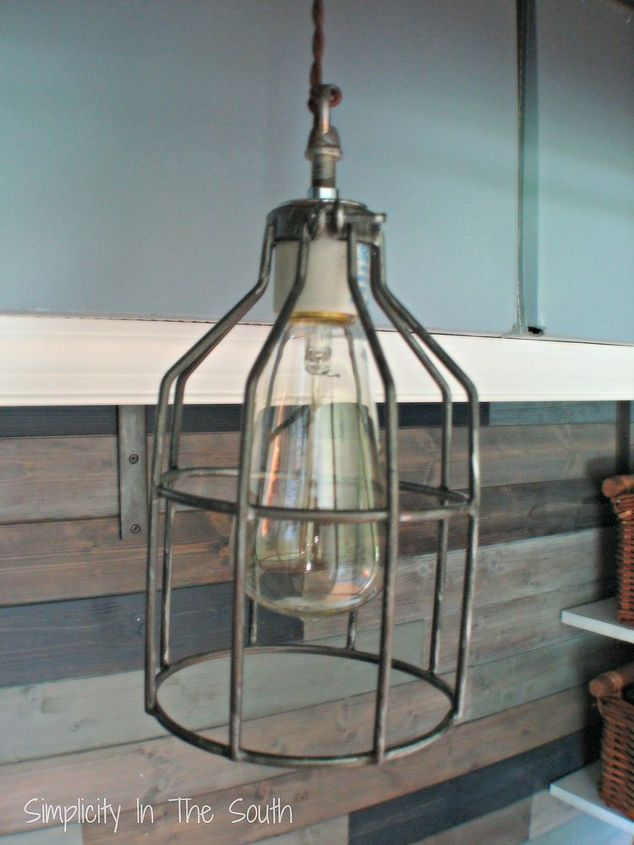 Restoration Hardware Inspired Industrial Pendant Light Lighting Diy Cage