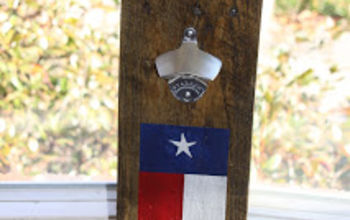 Pallet Board Bottle Opener #2