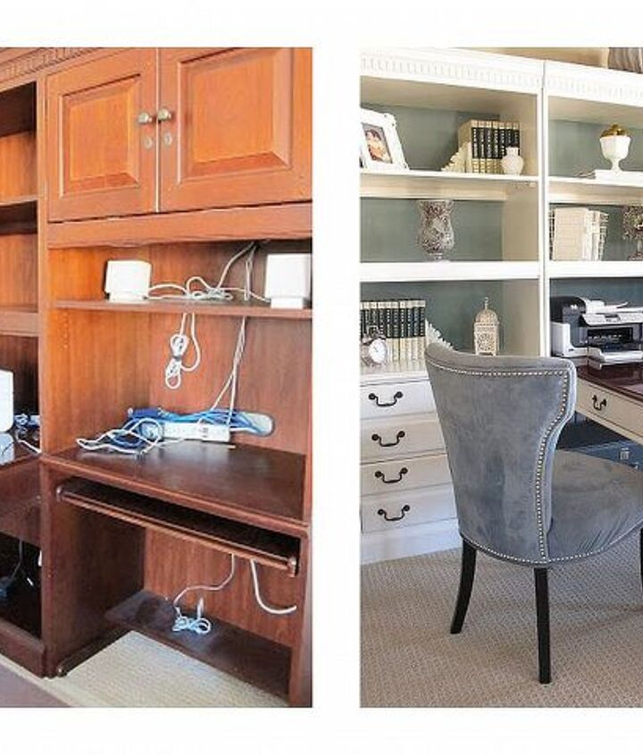 giving old bookshelves a new look with paint, chalk paint, painting, shelving ideas