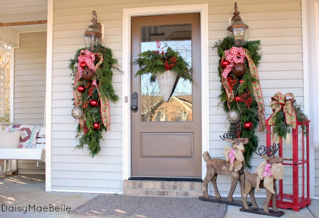 decorating my front porch for christmas christmas decorations porches seasonal holiday decor